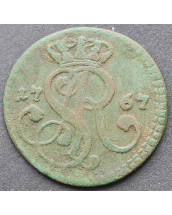 1 грош 1767 года
