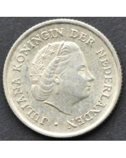 1/10 гульдена 1963 года Нидерландские Антильские острова