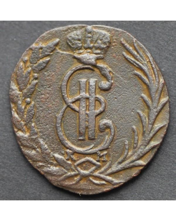 Денга 1773 года КМ, Сибирская монета