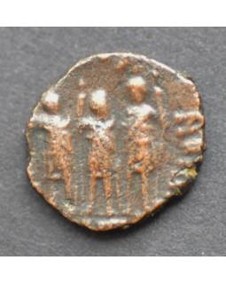 Фолис с изображением трех императоров