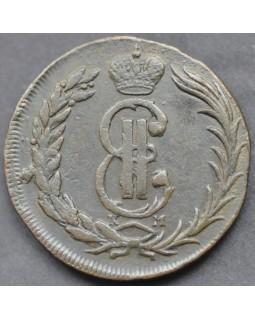 2 копейки 1775 года КМ Сибирская Монета