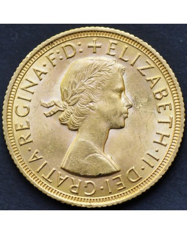 1 соверен 1958 года Великобритания