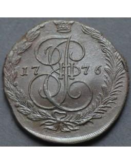 5 копеек 1776 года EМ