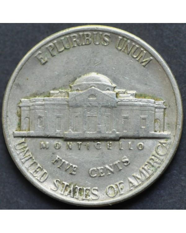 5 центов 1987 года D США