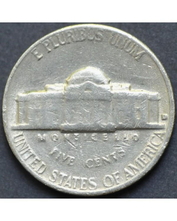 5 центов 1964 года D США