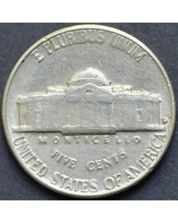 5 центов 1962 года D США