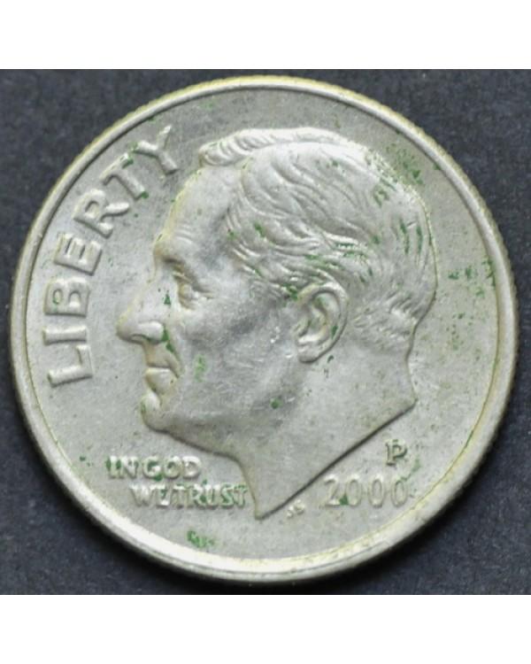10 центов (1 дайм) 2000 года P США