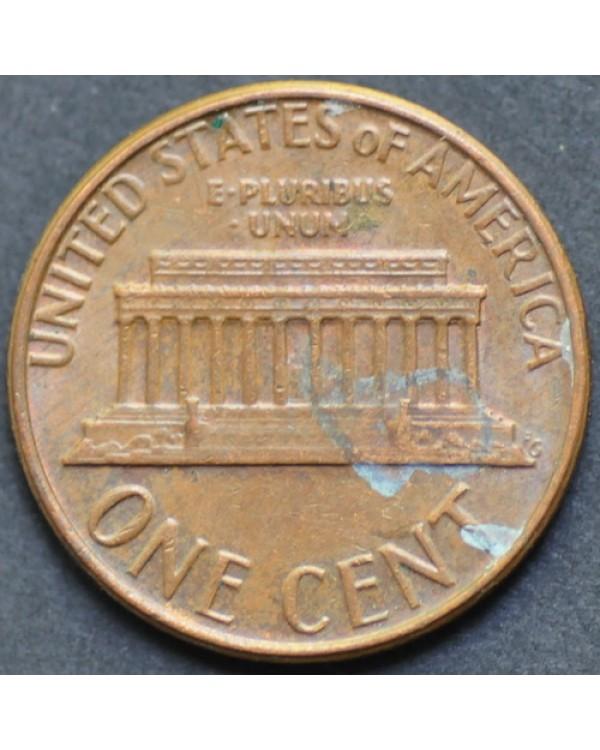 1 цент 1979 года D США