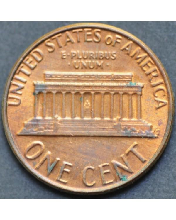 1 цент 1981 года D США