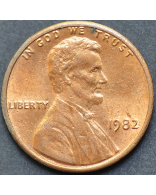1 цент 1982 года  США
