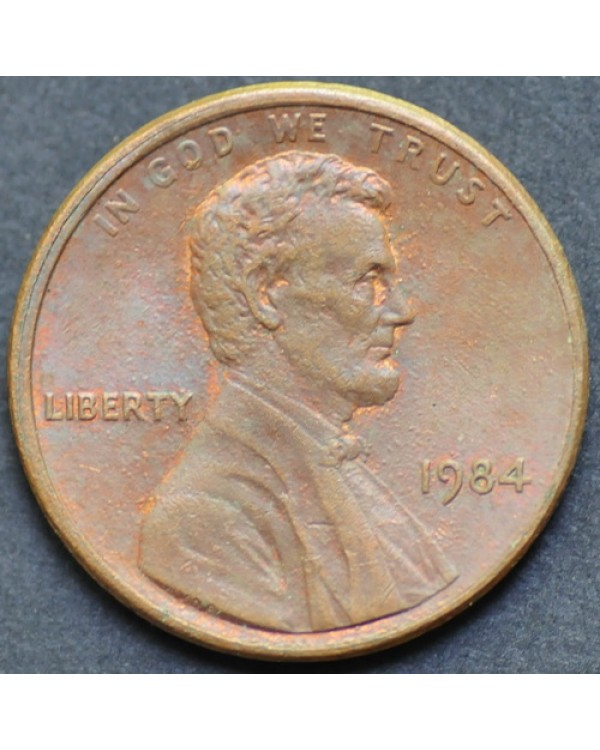 1 цент 1984 года США