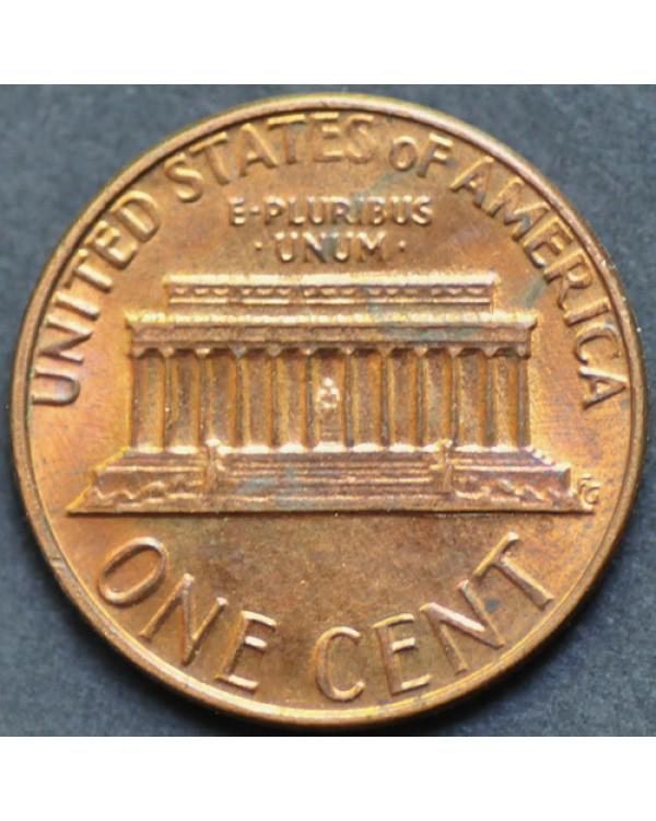 1 цент 1985 года D США