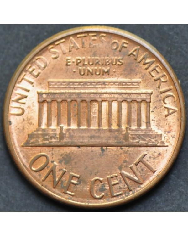1 цент 1988 года США