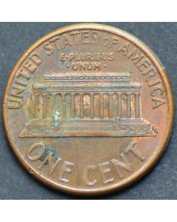 1 цент 1990 года D США