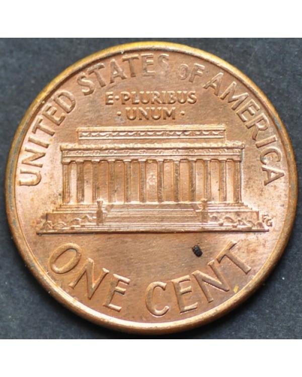 1 цент 1991 года D США