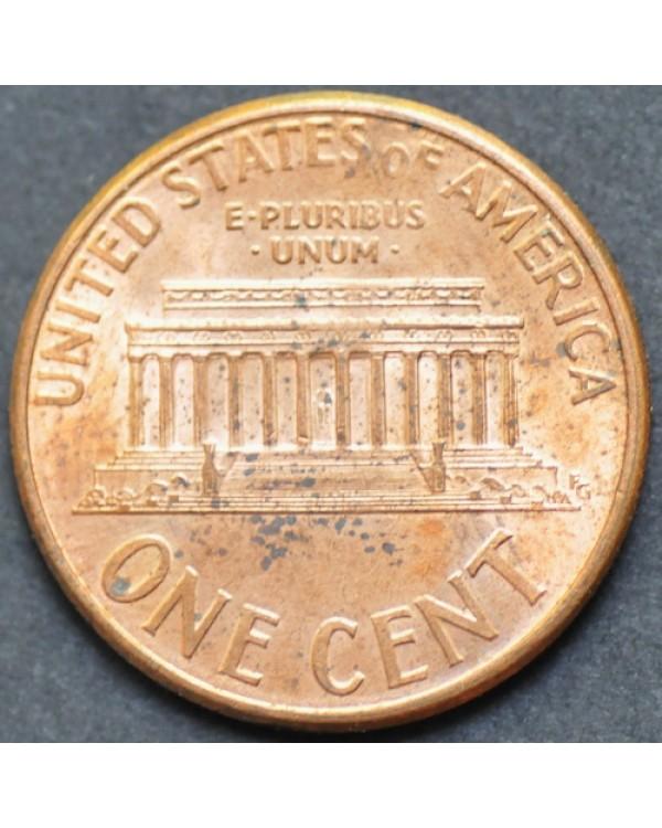 1 цент 1995 года D США