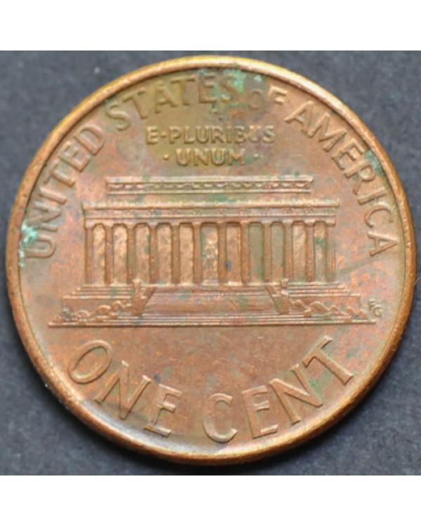 1 цент 1996 года D США