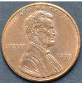 1 цент 1998 года США