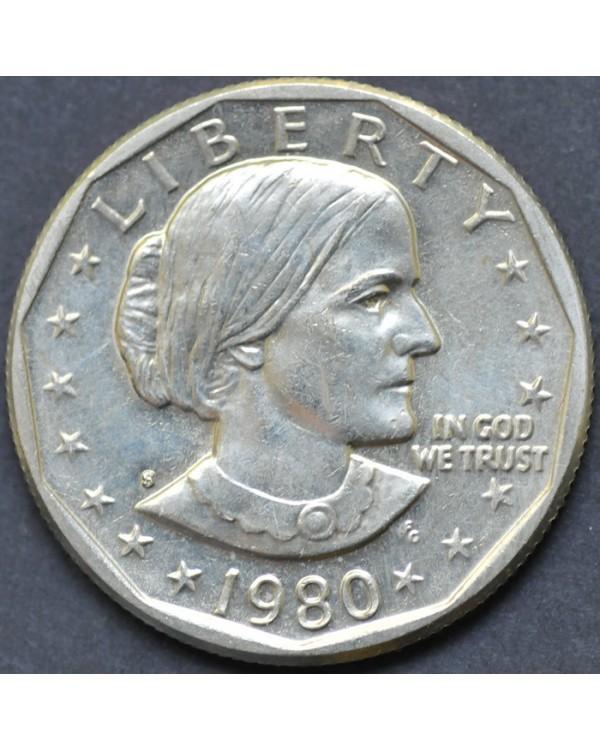 1 доллар 1980 года США