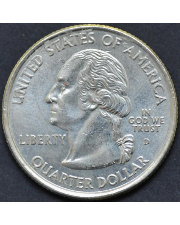 "25 центов (квотер) ""штат Колорадо"" 2006 года США"