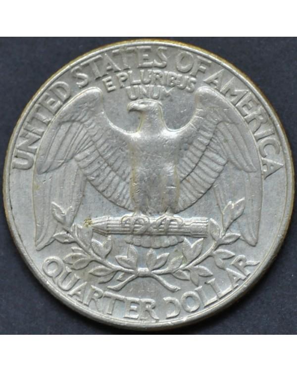 25 центов (квотер) 1987 года США