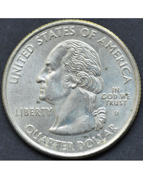 "25 центов (квотер) ""штат Орегон"" 2005 года США"