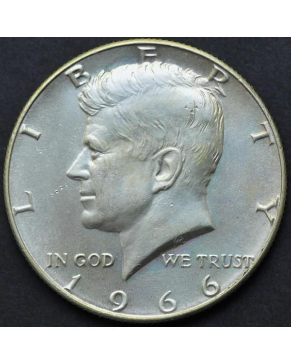1/2 доллара 1966 года США