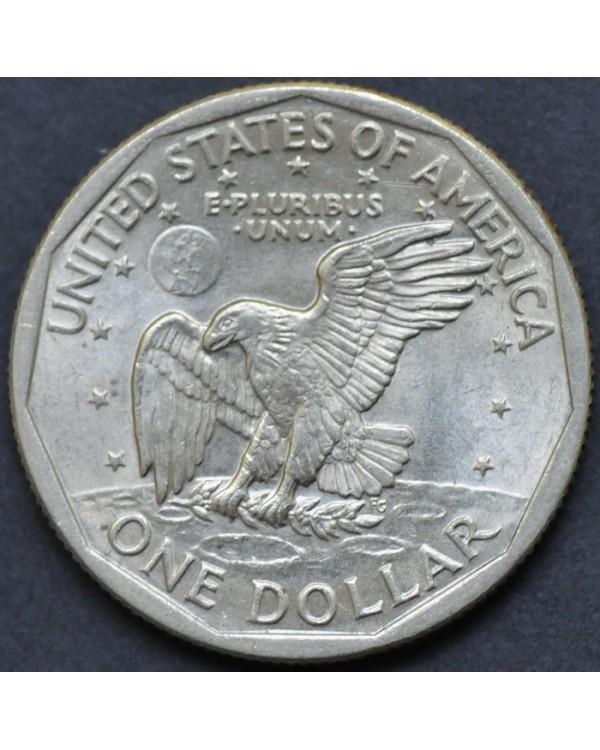 """1 доллар 1979 года США стоимостью 300 руб от магазина """"Заметки Нумизмата"""". Тел. (495) 784-50-61."""