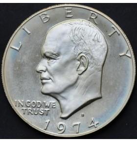 1 доллар 1974 года S Эйзенхауэр США