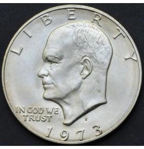 1 доллар 1973 года S Эйзенхауэр США