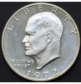 1 доллар 1972 года S Эйзенхауэр США