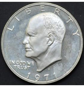 1 доллар 1971 года S Эйзенхауэр США