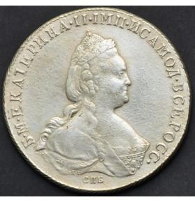 1 рубль 1785 года СПБ ЯА