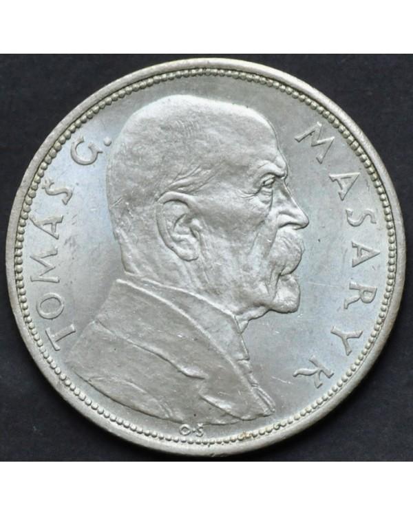 "10 крон 1928 года Чехословакия ""10 лет Независимости"""