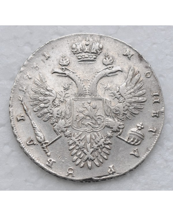 1 рубль 1731 года Корсаж II