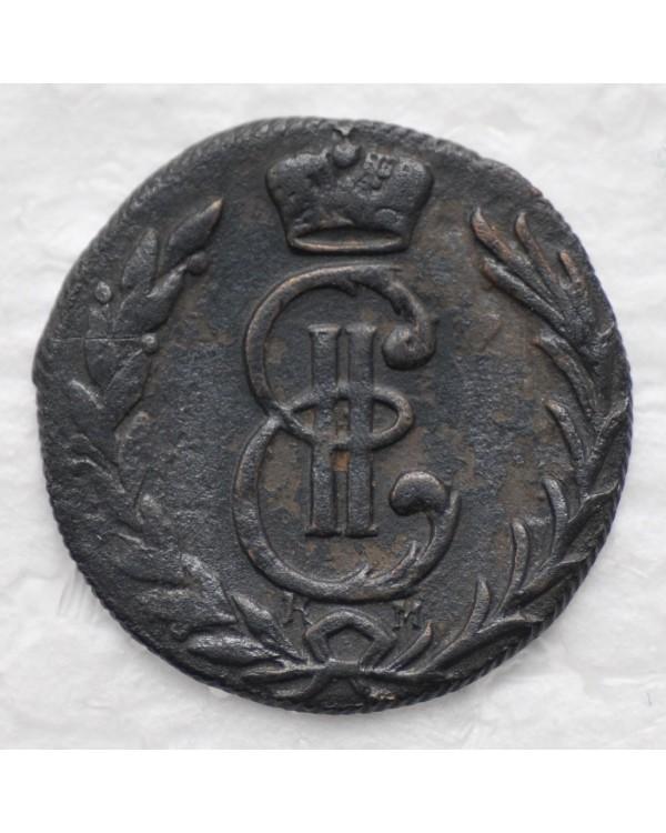 Денга 1778 года КМ, Сибирская монета