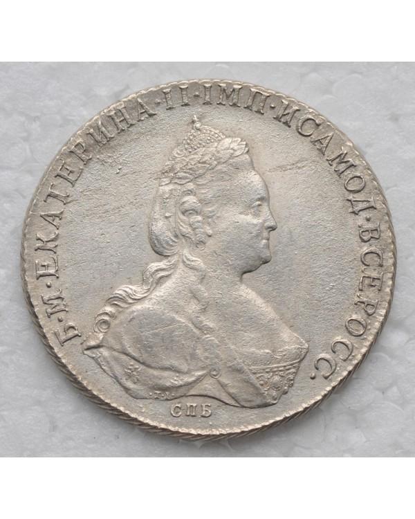 1 рубль 1786 года СПБ ЯА TI