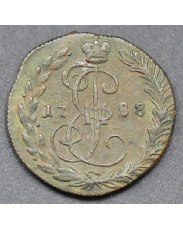 Денга 1788 года КМ