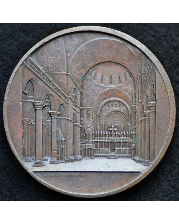 """Памятная медаль """"Базилика Святого Марка в Венеции"""" 1850 года"""