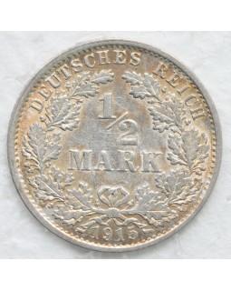 1/2 марки 1915 года