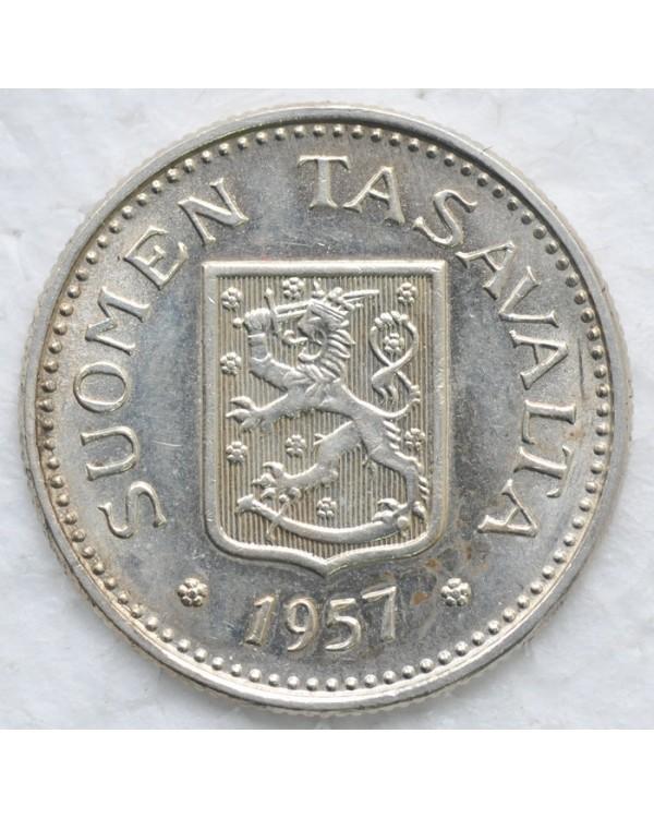 100 марок 1957 года Финляндия