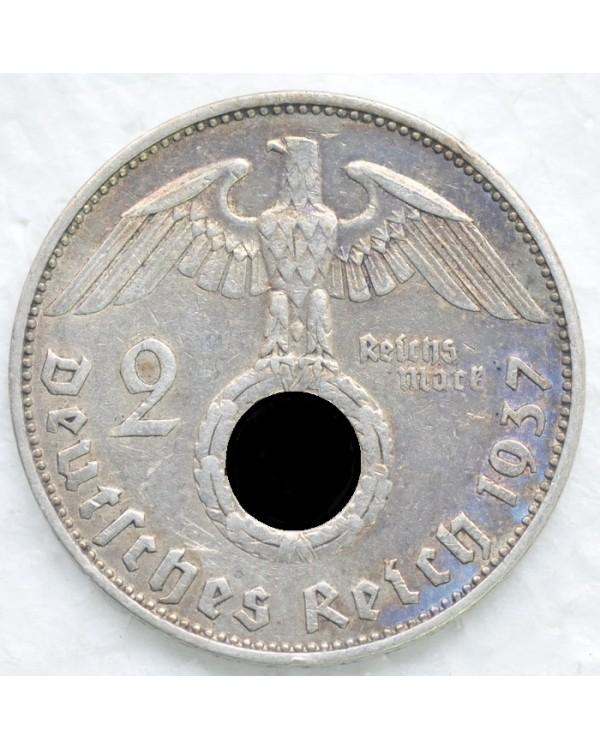 2 рейхсмарки 1937 года