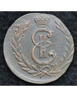 1 копейка 1777 года КМ Сибирская Монета
