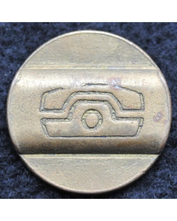 Телефонный жетон СПБ 1992 год