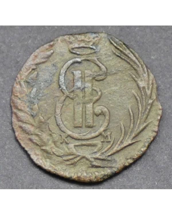 Полушка 1771 года КМ, Сибирская монета