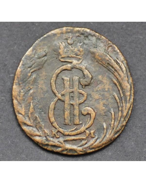 Полушка 1770 года КМ, Сибирская монета