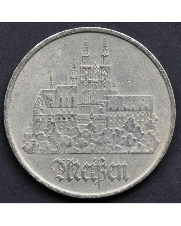 5 марок 1972 года ГДР - город Мейсен