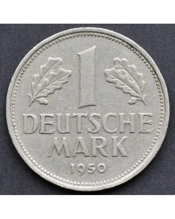 1 марка 1950 года ФРГ