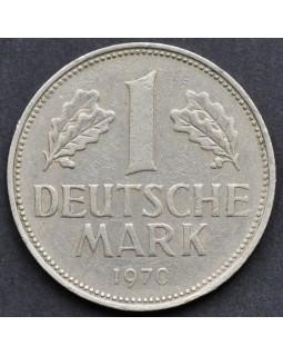 1 марка 1970 года ФРГ