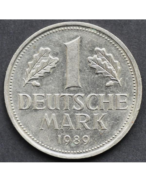 1 марка 1989 года ФРГ